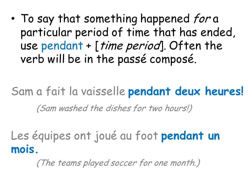To say that something has been going on since a particular time and continues into the present, use depuis + [time period, date, or starting point].