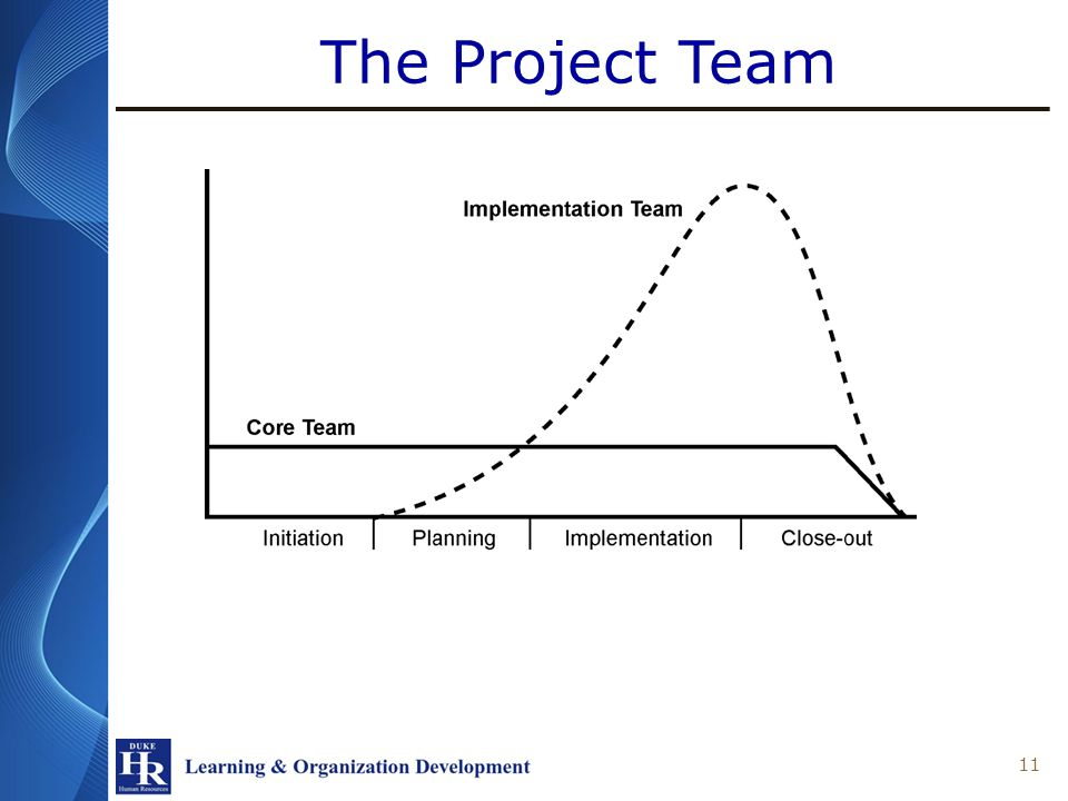The Project Team 11