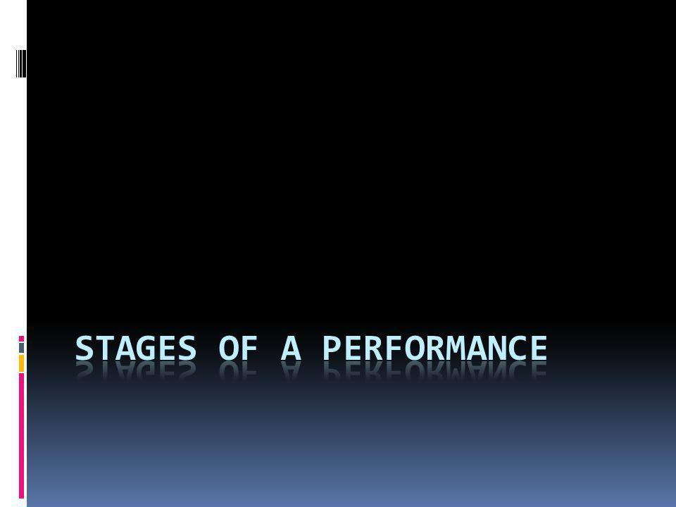 Since plays (or scene studies) must go from start to finish in front of a live audience, rehearsals are important and extensive.