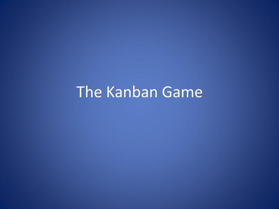 Kanban Pull Quoted from Karl Scotlands presentation at Kanban Conference – Miami 2009 http://www.leankanbanconference.com/presentations.html © Copyright 2009 EMC Corporation.