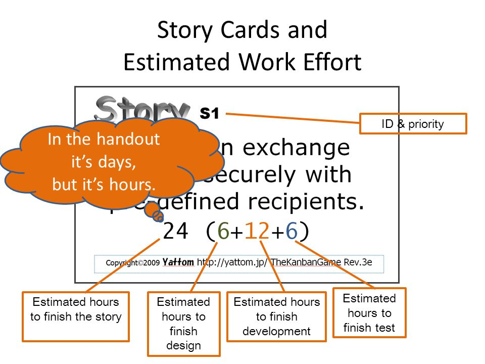 Make Assignments Assign human resources (you!) to stages You cannot change the assignment during an iteration Re-assign at the beginning of an iteration