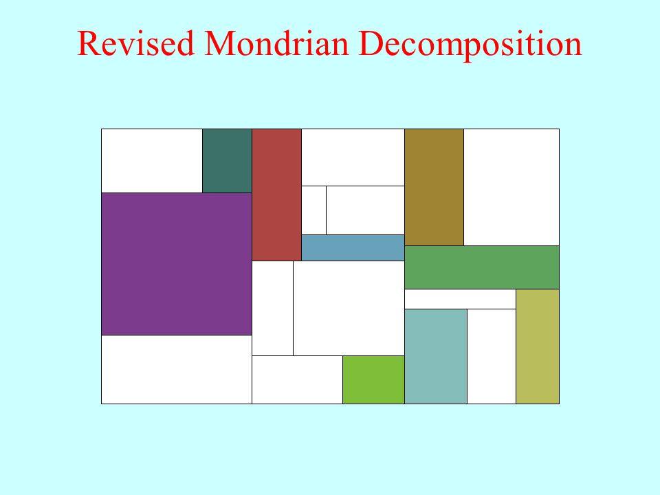Revised Mondrian Decomposition