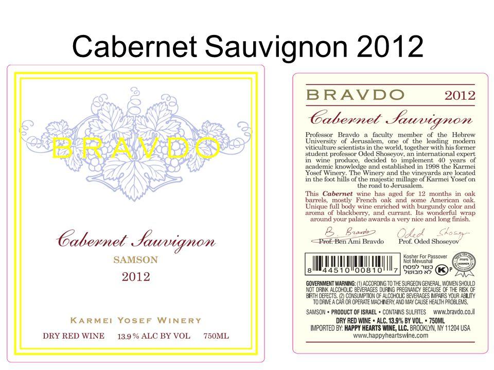 Cabernet Sauvignon 2012