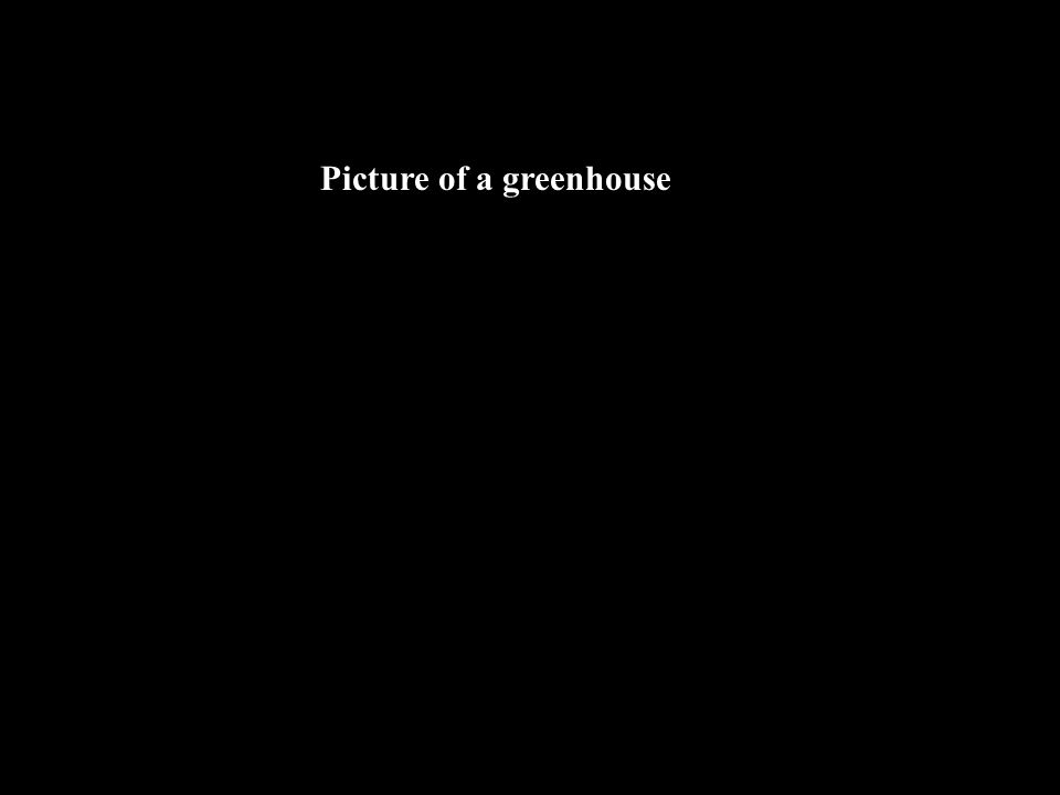 Picture of a greenhouse