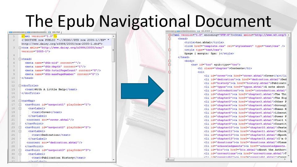 The Epub Navigational Document