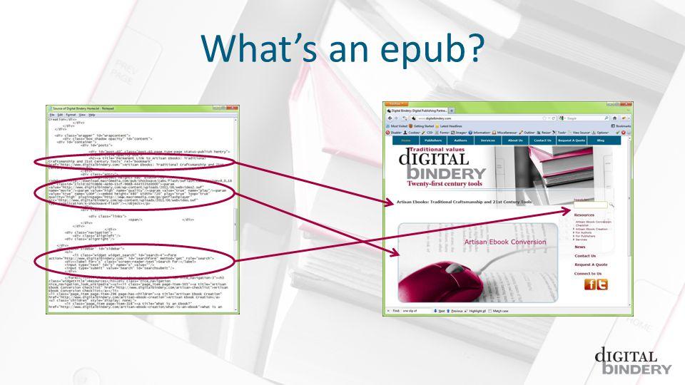 Whats an epub