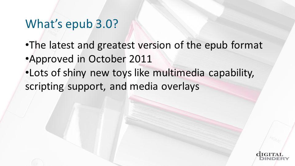 Whats epub 3.0.