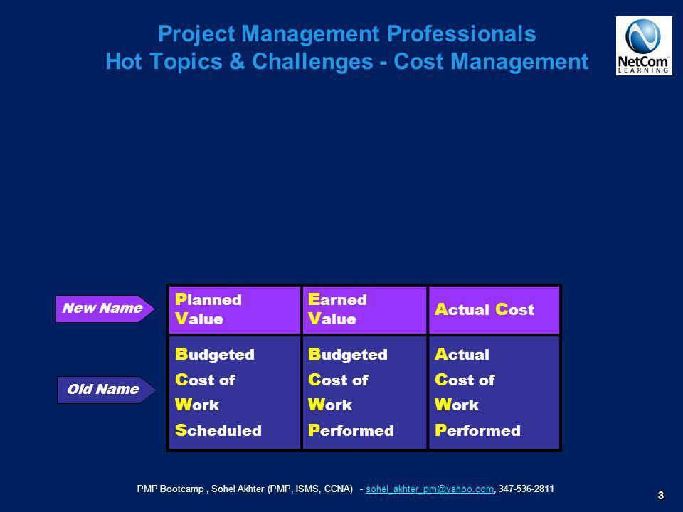 PMP Bootcamp, Sohel Akhter (PMP, ISMS, CCNA) - sohel_akhter_pm@yahoo.com, 347-536-2811sohel_akhter_pm@yahoo.com 3 Project Management Professionals Hot