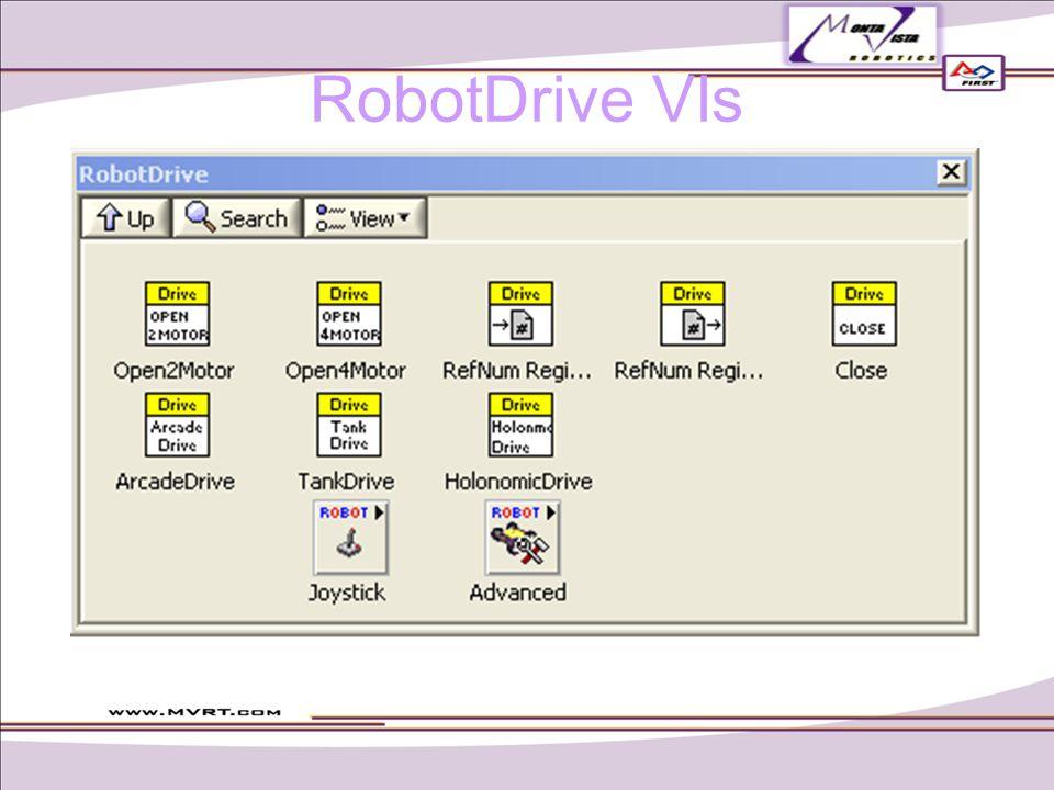 RobotDrive VIs