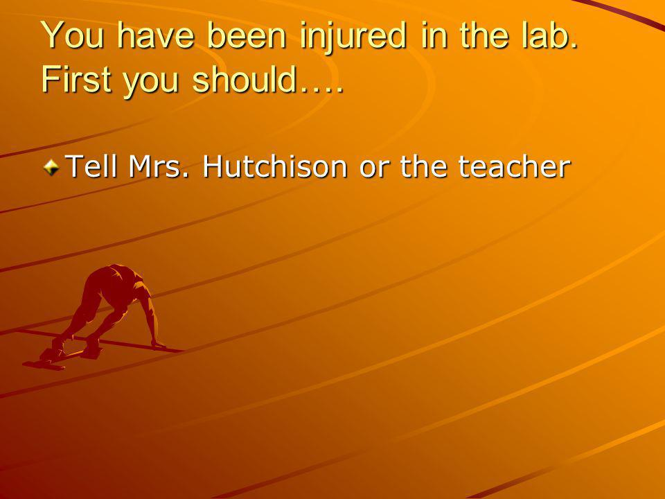If a lab experiment is not completed you should….Schedule a time with Mrs.
