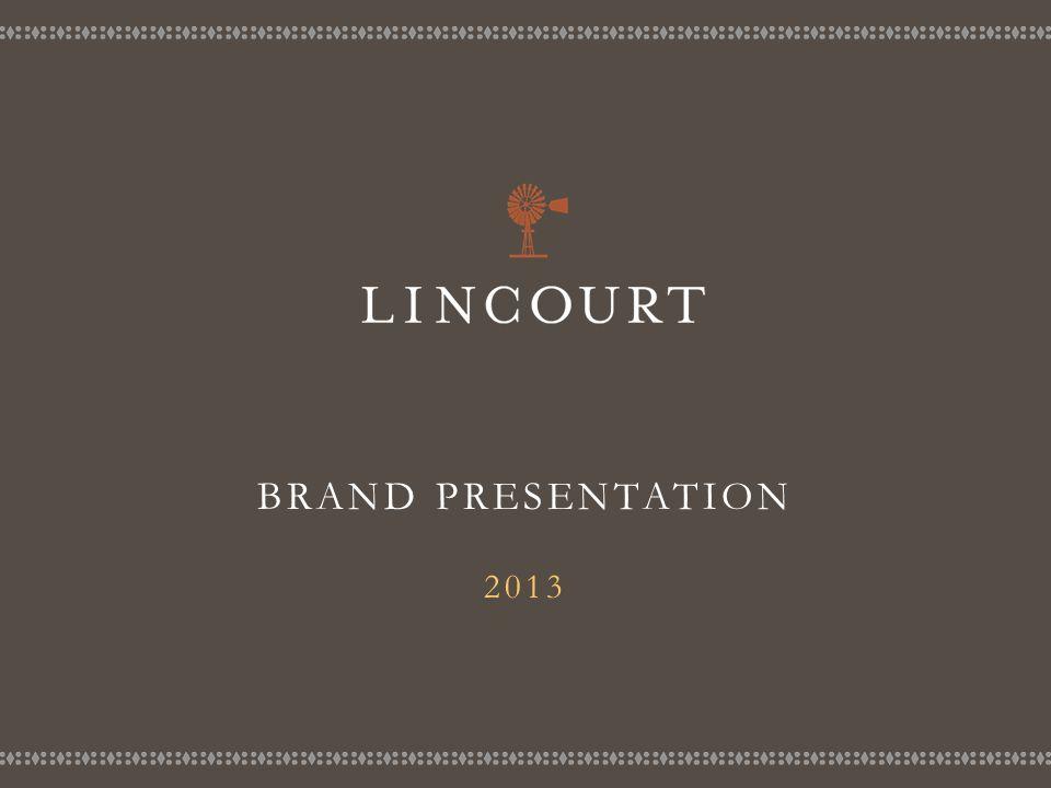 BRAND PRESENTATION 2013