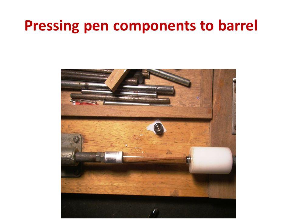 Pen Press for assembling the Pen