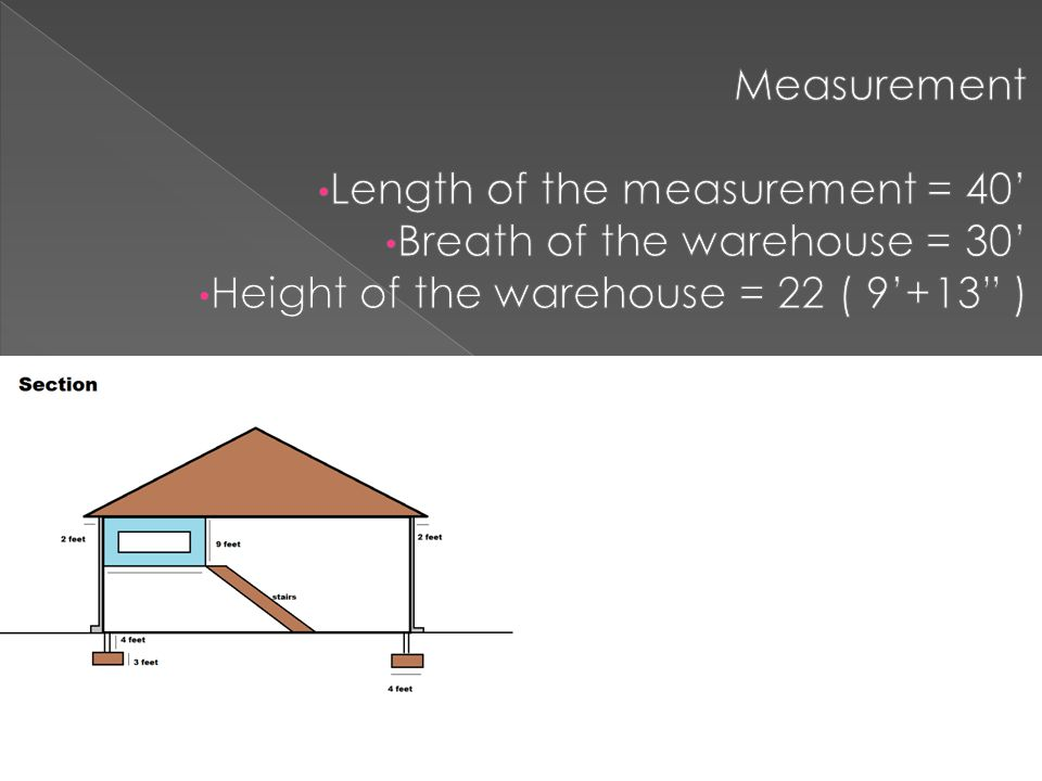 Equipments For Warehouse 2 Floors Bricked Warehouse