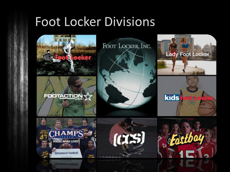 Foot Locker Divisions