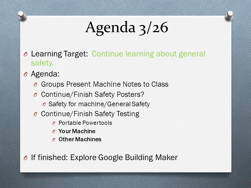 Agenda 3/26 (5 th Period) Target: Brainstorm and research wind turbine ideas.