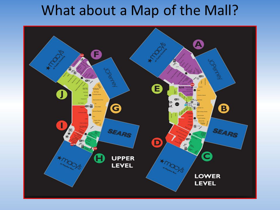 What about a Map of the Mall?
