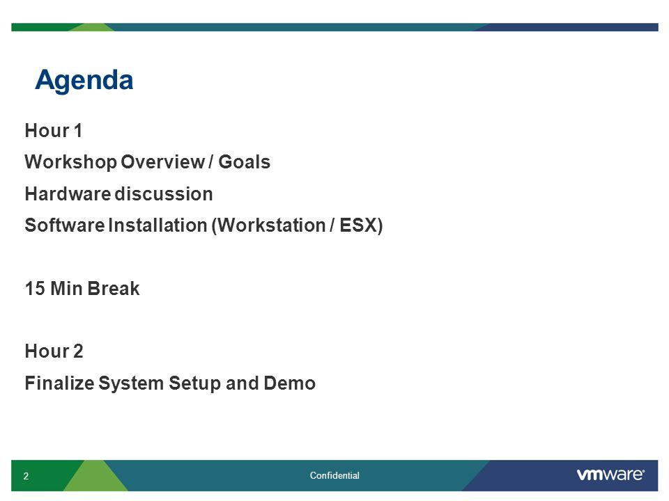 13 Confidential Install VMware Workstation 7