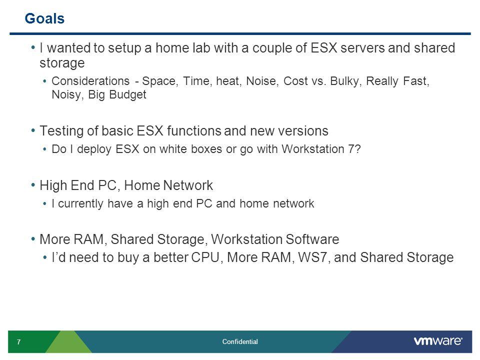 28 Confidential Configure Network on ESX4-2 Server