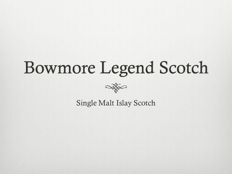 Bowmore Legend ScotchBowmore Legend Scotch Single Malt Islay Scotch