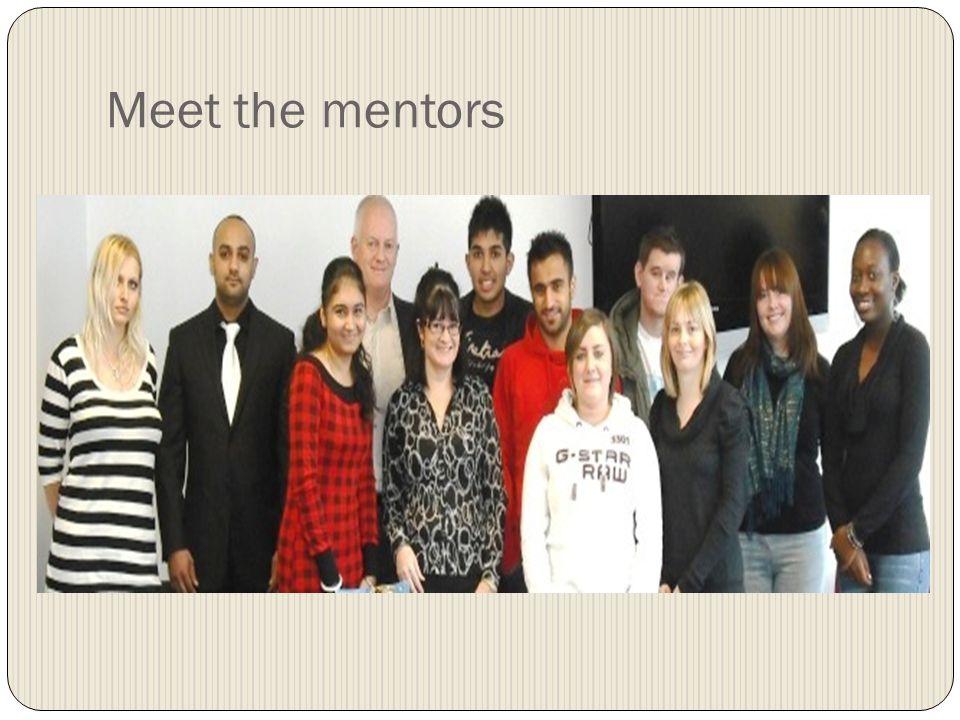 Meet the mentors