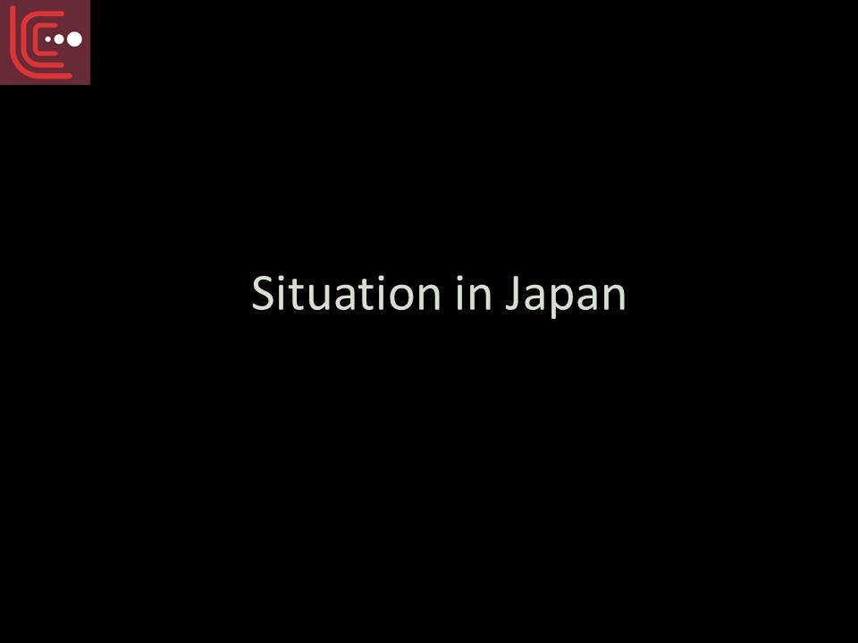 Situation in Japan