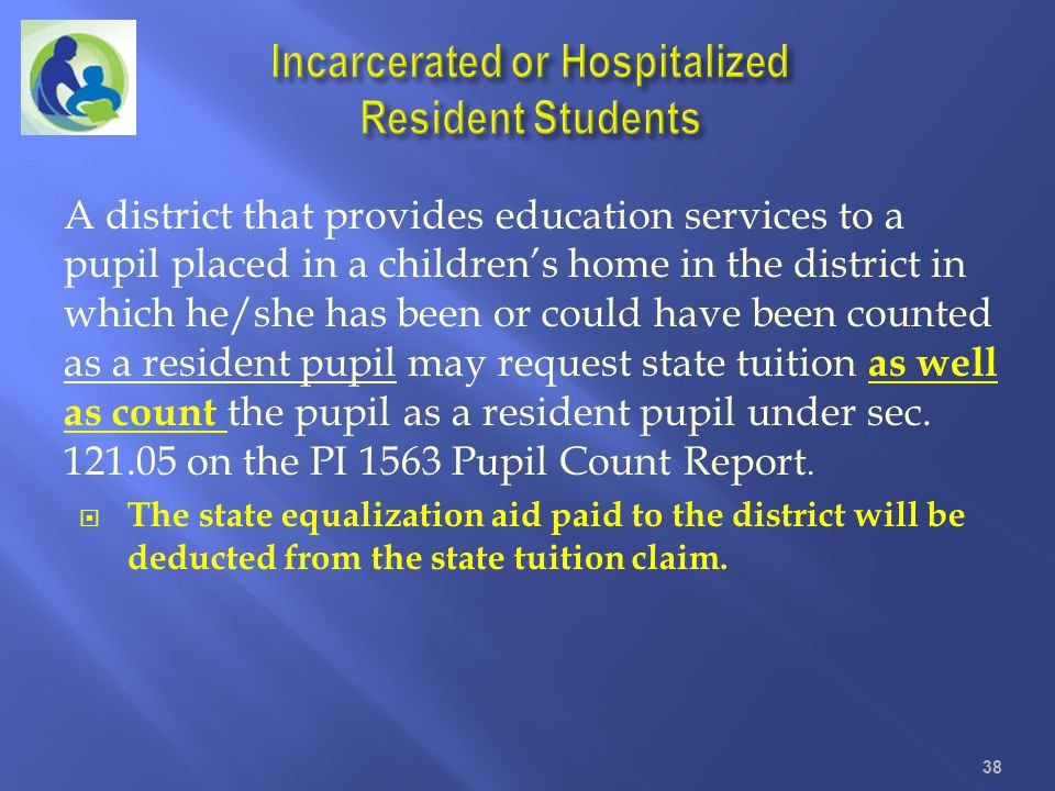 A district that provides education services to a pupil placed in a childrens home in the district in which he/she has been or could have been counted