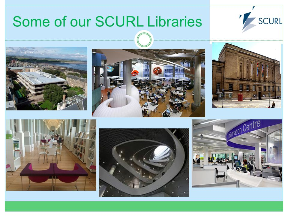 Some of our SCURL Libraries