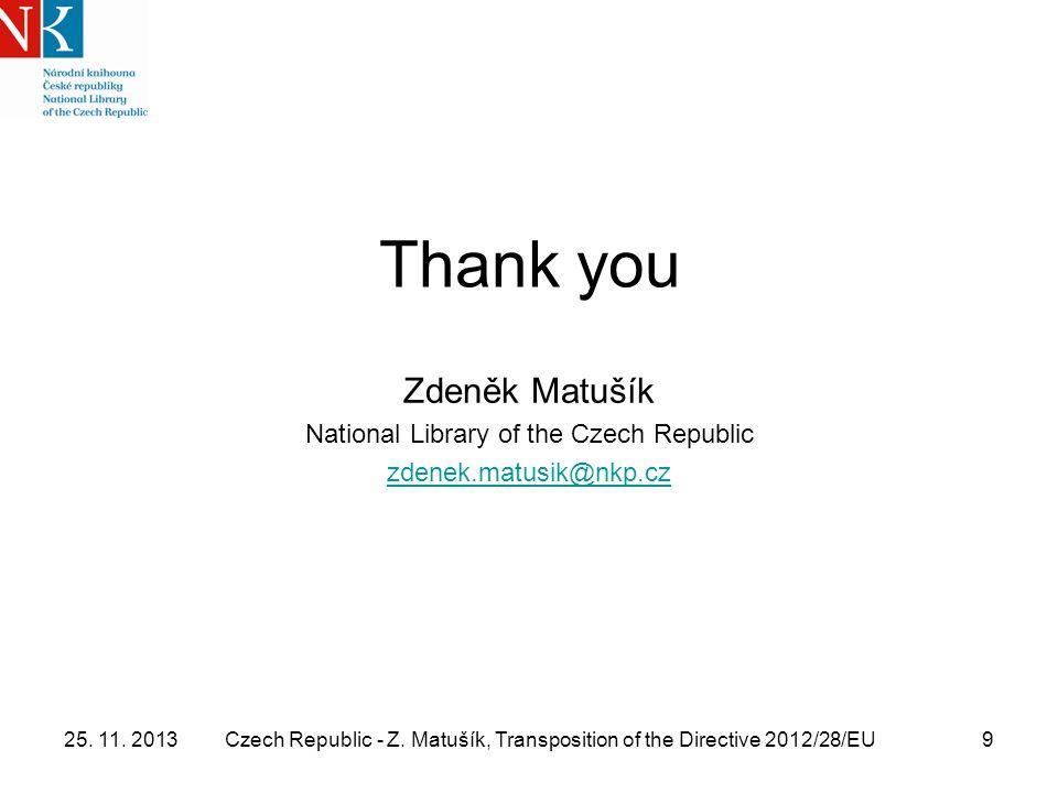 25. 11. 2013Czech Republic - Z.