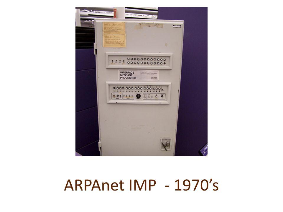 ARPAnet IMP - 1970s