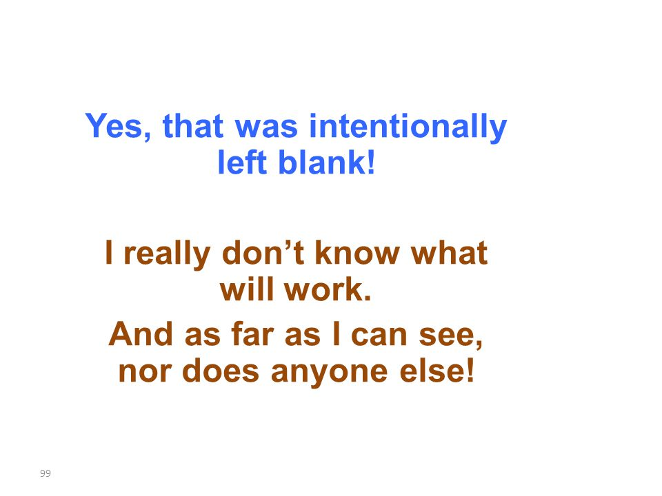 Yes, that was intentionally left blank. I really dont know what will work.