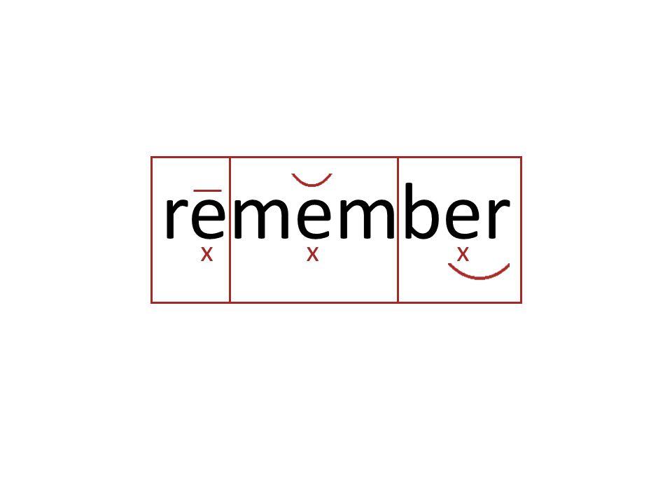 remember xxx