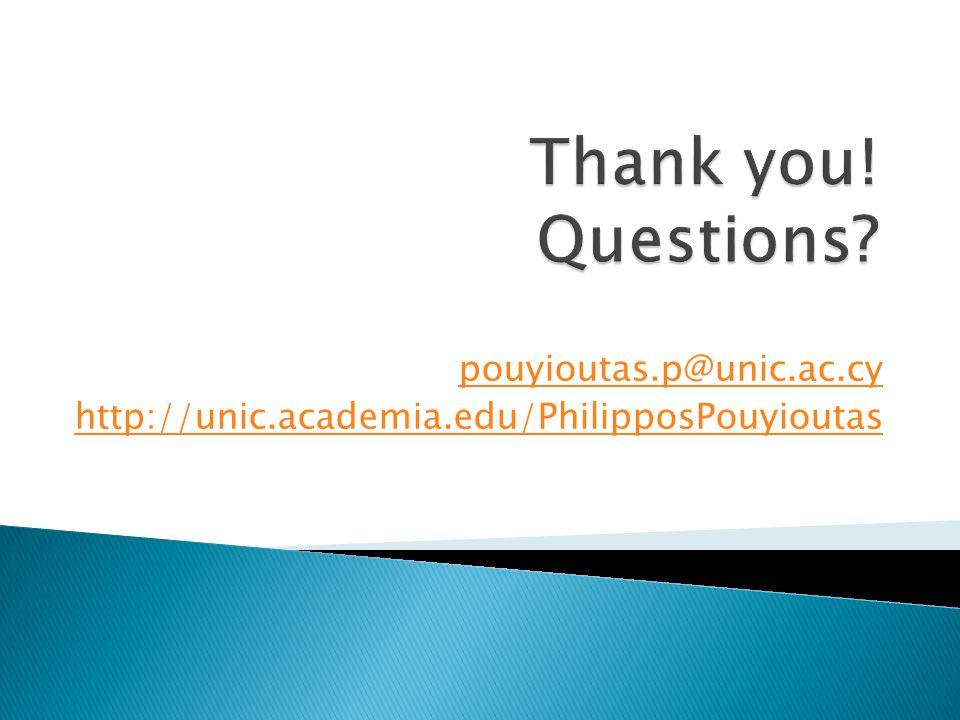 pouyioutas.p@unic.ac.cy http://unic.academia.edu/PhilipposPouyioutas