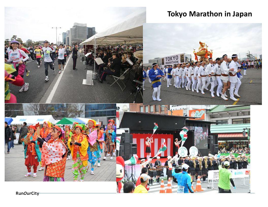 RunOurCity Tokyo Marathon in Japan