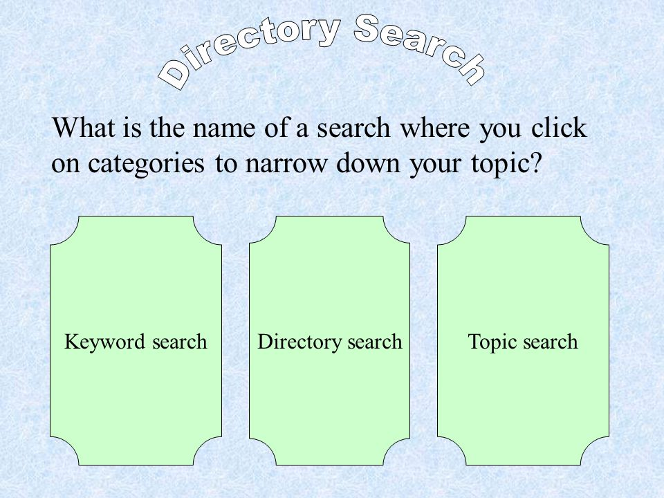 Finish Start Terms 1 Terms 2 Safety Directory Search Keyword Search