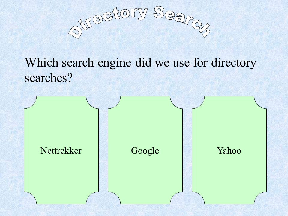 What is the name of a search where you click on categories to narrow down your topic.