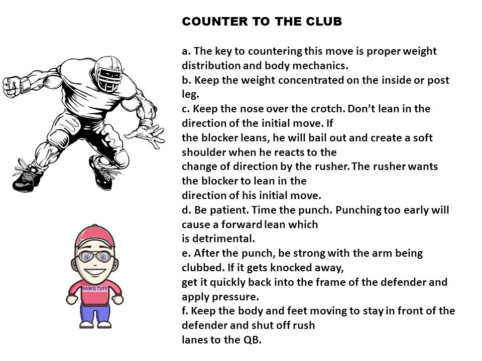 COUNTER TO THE CLUB a.
