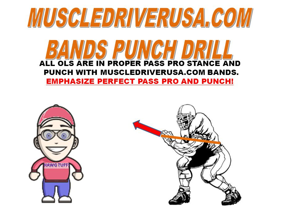 ALL OLS ARE IN PROPER PASS PRO STANCE AND PUNCH WITH MUSCLEDRIVERUSA.COM BANDS.