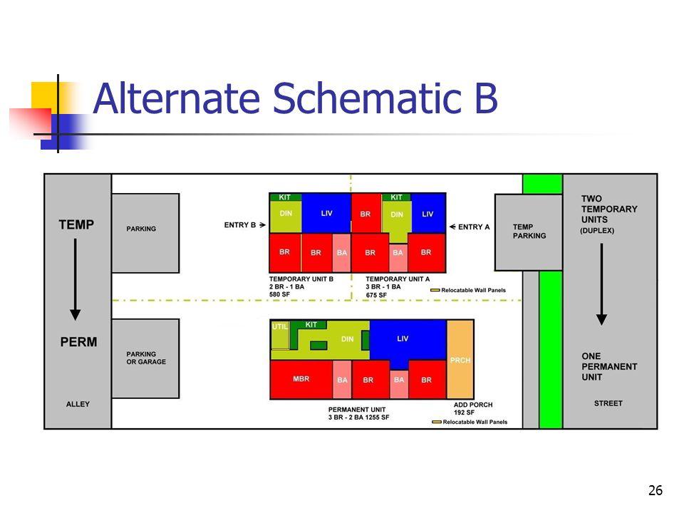 26 Alternate Schematic B
