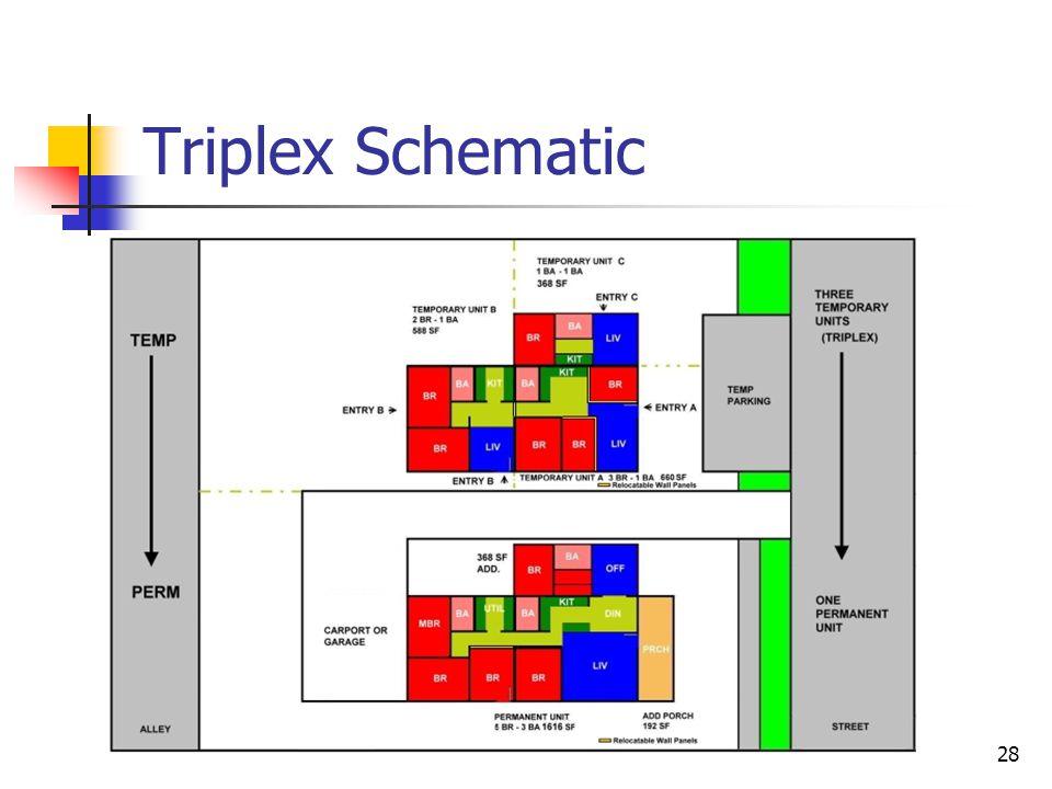 28 Triplex Schematic