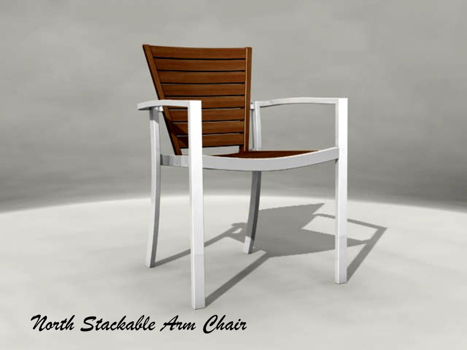 North Stackable Arm Chair
