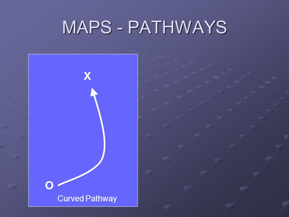 MAPS - PATHWAYS O X Curved Pathway