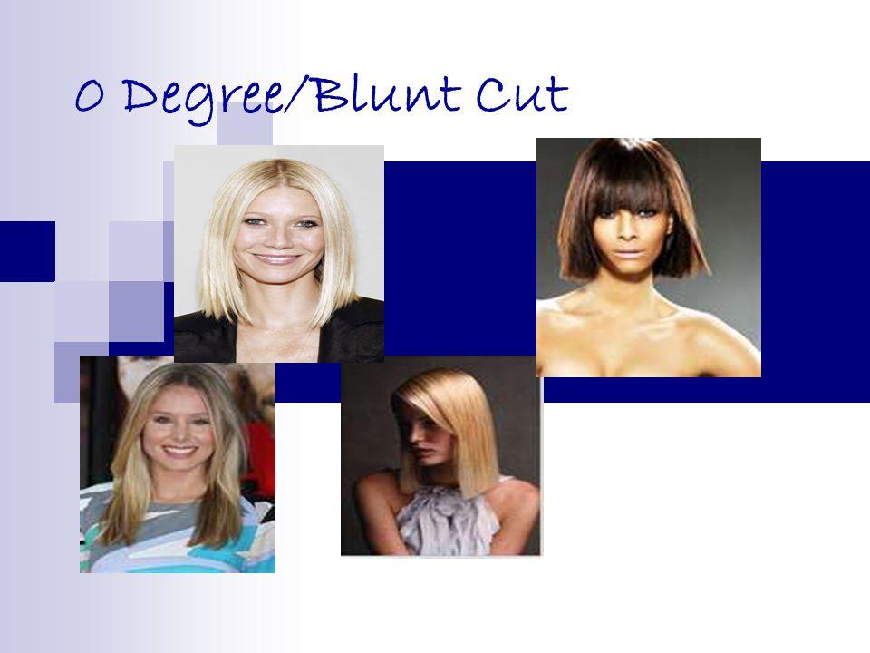 0 Degree/Blunt Cut