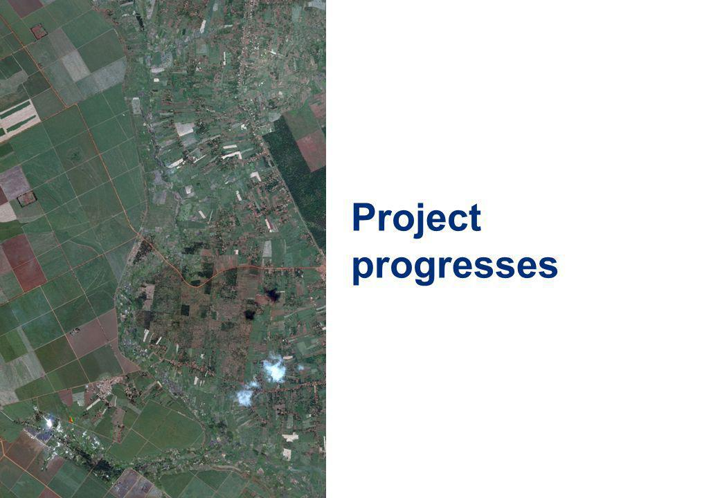 10 Project progresses