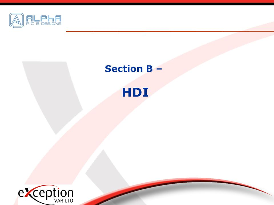 Section B – HDI