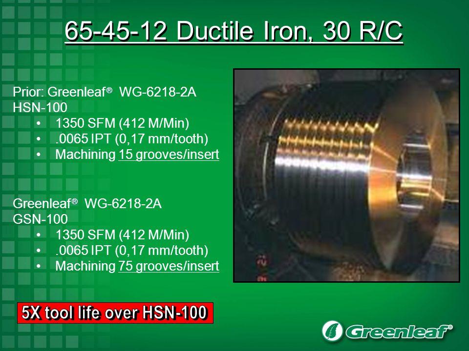 GSN-100 Cast Iron Milling