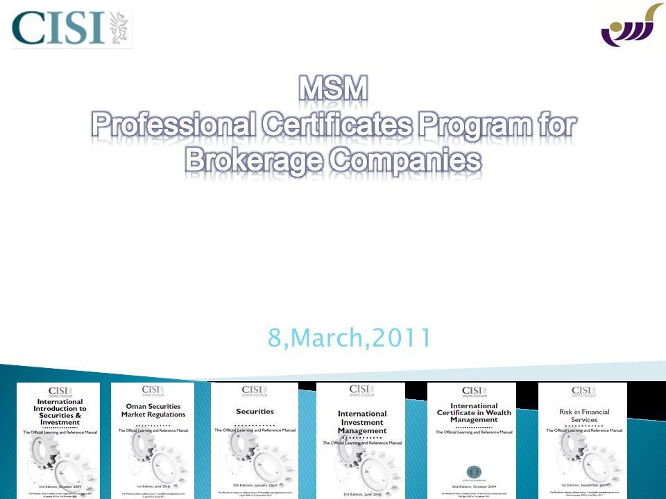 CISI Program Qualification Navigator Exam Specification Payment procedures