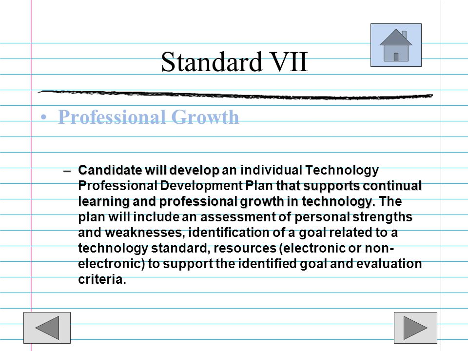 Standard VI This is the PowerPoint that I presented to my peers to show what I observed and what I would do to change it. I found that it is easier to