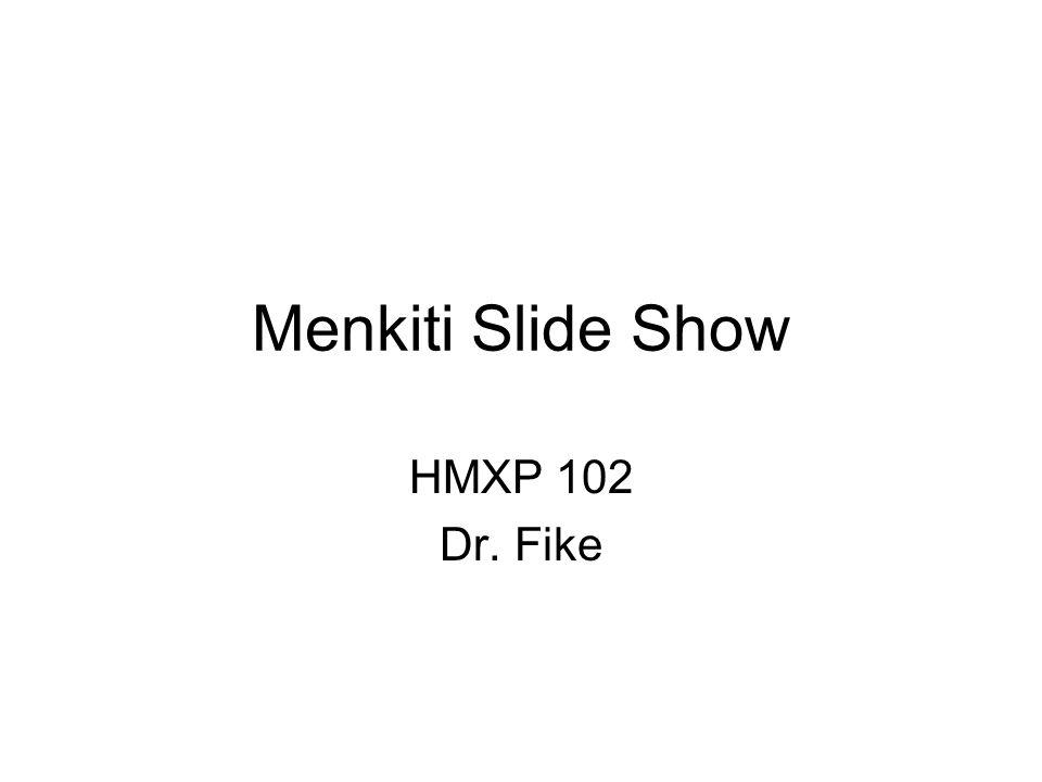 Menkiti Slide Show HMXP 102 Dr. Fike