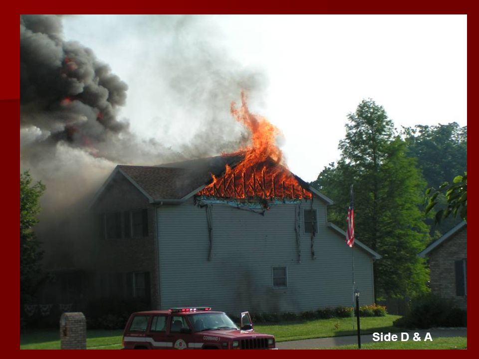 Whats Your Call.Would you call for an offensive or defensive attack on this fire.