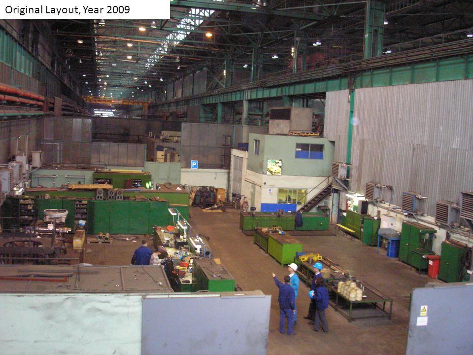 Original Layout, Year 2009